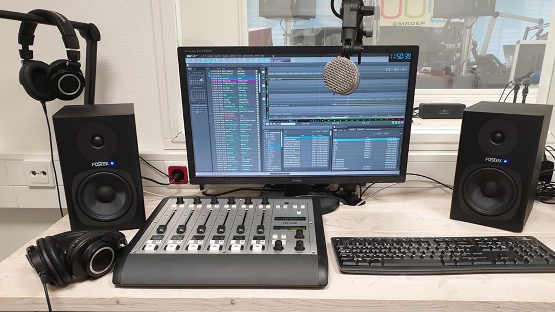 Installatie – compacte studio